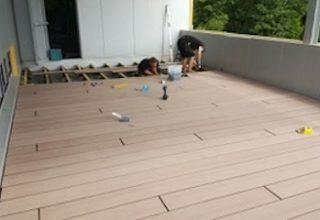 houten terras aanleggen, terrasplanken